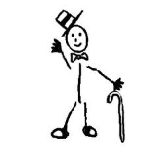 Other - Stickman sticker - A